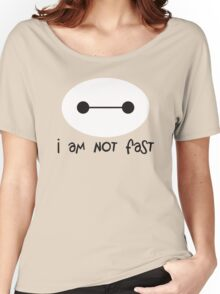 Big Hero 6, I am not fast Women's Relaxed Fit T-Shirt