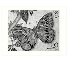 Erica's Butterfly Art Print