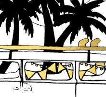 Aussie Road Trip - Gold Edition Sticker