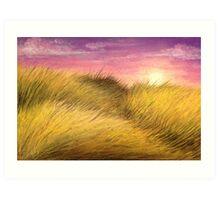 Grassy Plains Art Print