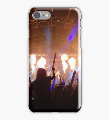 flame on concert  iPhone Case/Skin