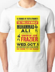 MUHAMMAD ALI Vs FRAZIER T-Shirt