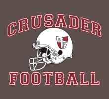 Crusader Football - Red One Piece - Short Sleeve