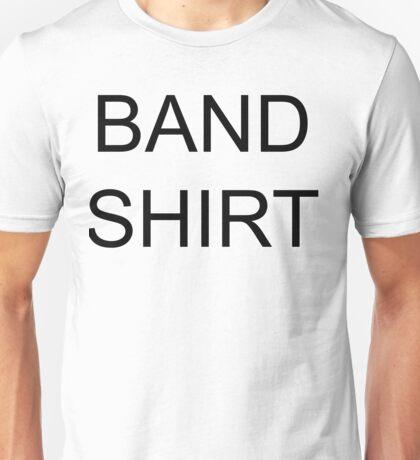 band shirt Unisex T-Shirt