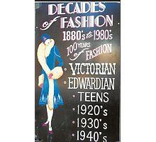 Retro Fashions In Haight-Ashbury Photographic Print