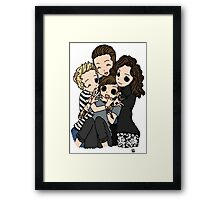 Everyone Loves Louis Framed Print