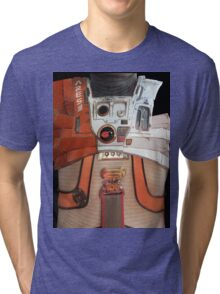 The Martian EVA suit Tri-blend T-Shirt