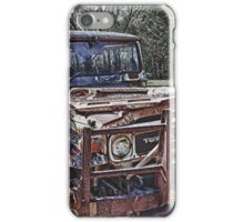Aged Toyota iPhone Case/Skin