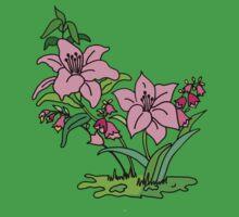 Pink Lily Kids Tee