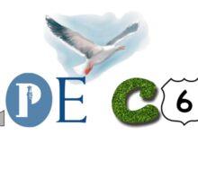 Embodying Cape Cod Sticker
