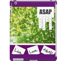 Live.Love.A$AP iPad Case/Skin