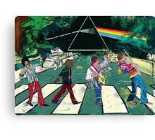 Dark Side of Jimi Road Canvas Print