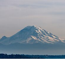 middday Mt. Rainer by JPNation