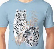 White Tigers  Unisex T-Shirt