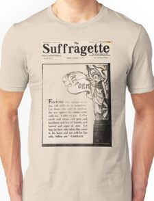The Suffragette Unisex T-Shirt