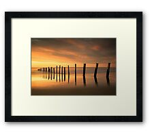 Last Hurrah Of 2015 Framed Print