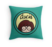 Daria Logo Throw Pillow