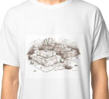 Wrapped Parcels, Letters, Marbles and a Bottle Classic T-Shirt