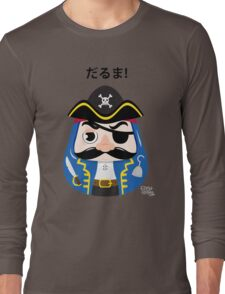 Pirates Daruma Long Sleeve T-Shirt