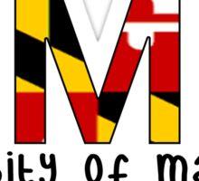 University of Maryland - Flag Sticker