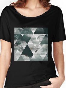 Waves polygon Women's Relaxed Fit T-Shirt