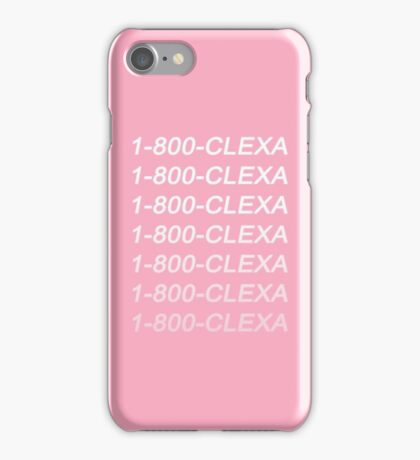 The 100 - Clexa Hotline Bling iPhone Case/Skin