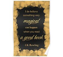 JK Rowling Quote 2 - Hufflepuff Color Poster