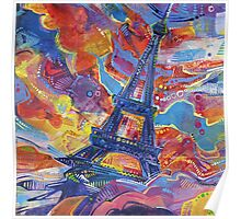 Eiffel's tower Poster