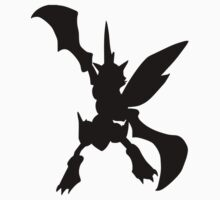 Scyther silhouette Baby Tee