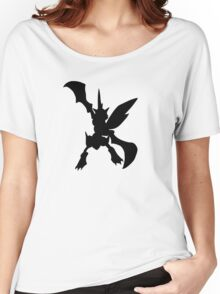 Scyther silhouette Women's Relaxed Fit T-Shirt