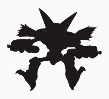 Alakazam silhouette One Piece - Short Sleeve