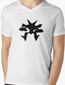 Alakazam silhouette Mens V-Neck T-Shirt