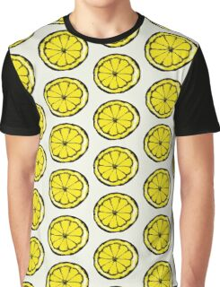 Lemon in the style of stone roses Graphic T-Shirt