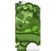 Green Snuggle iPhone Case/Skin