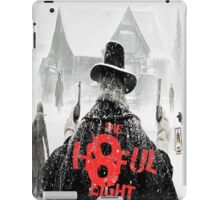 The Hateful Eight 2015 jembut iPad Case/Skin