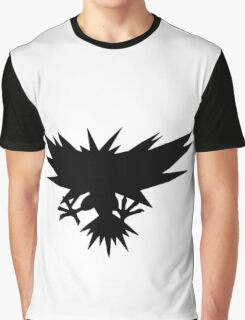 Zapdos Silhouette Graphic T-Shirt