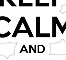 Keep Calm And Carry One - Pro Gun Sticker