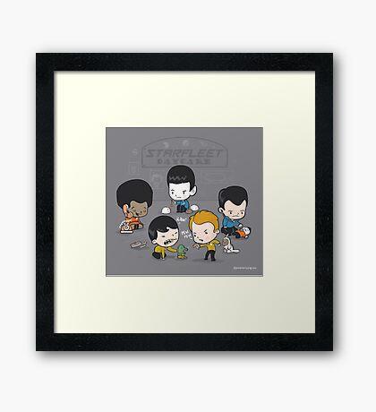 Starfleet Daycare Framed Print