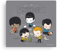 Starfleet Daycare Canvas Print