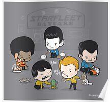Starfleet Daycare Poster