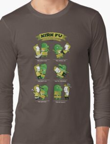 Kirk Fu! Long Sleeve T-Shirt