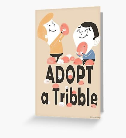 Adopt a Tribble Greeting Card