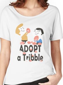 Adopt a Tribble Women's Relaxed Fit T-Shirt