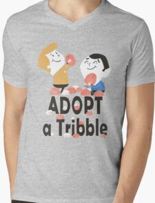 Adopt a Tribble Mens V-Neck T-Shirt