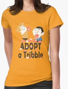 Adopt a Tribble Womens Fitted T-Shirt