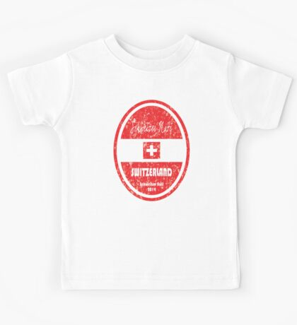 World Cup Football - Switzerland Kids Tee