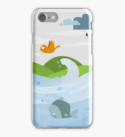 Nature with its habitants iPhone Case/Skin