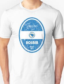 World Cup Football - Bosnia and Herzegovina Unisex T-Shirt