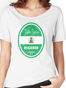World Cup Football - Nigeria Women's Relaxed Fit T-Shirt