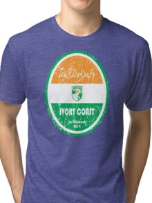 World Cup Football - Ivory Coast Tri-blend T-Shirt
